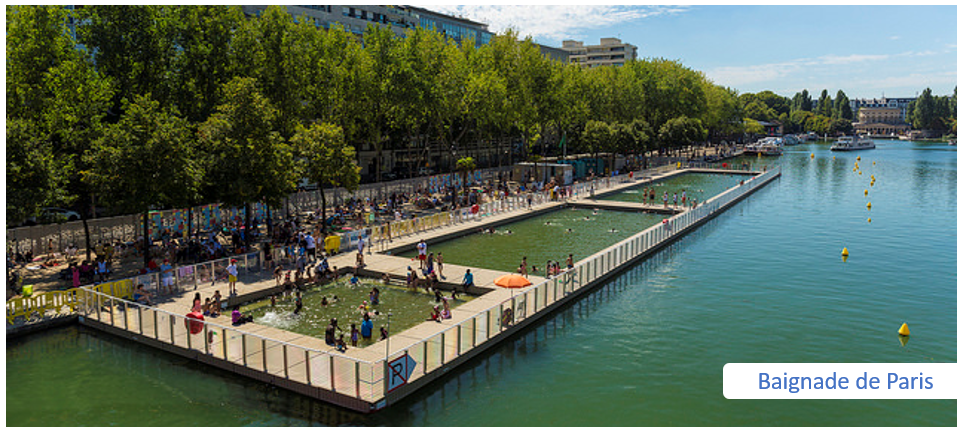 baignade de Paris