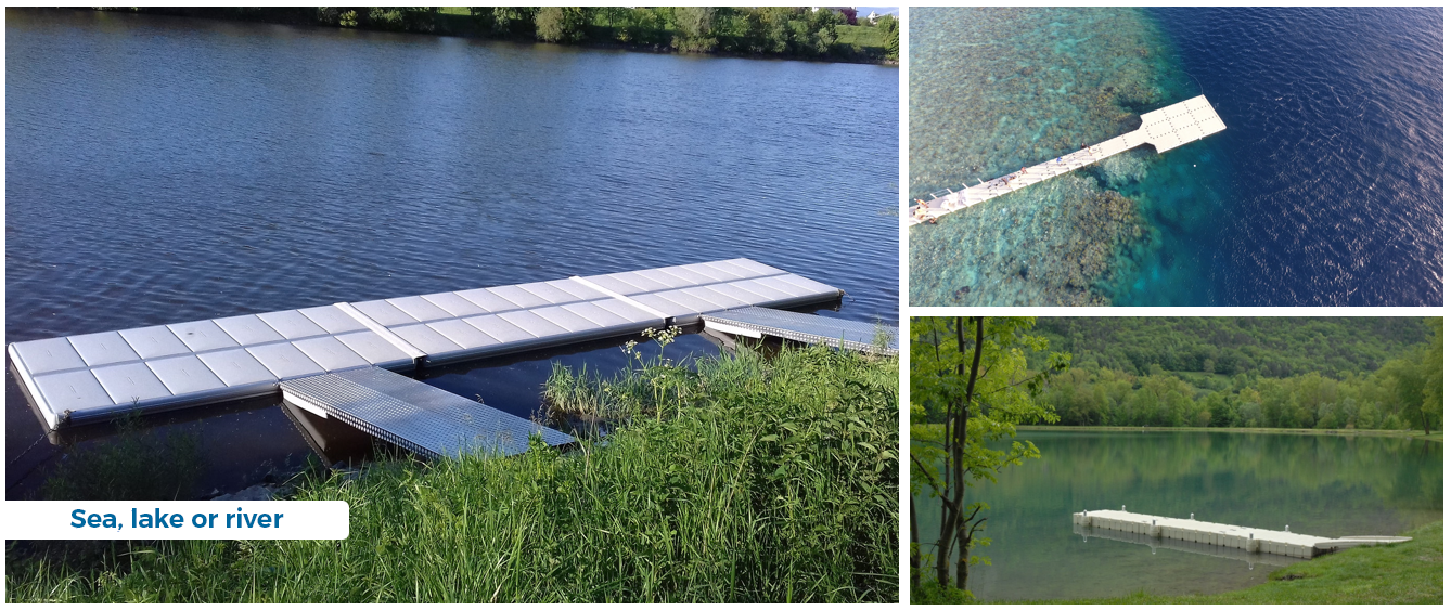 Choosing the right floating pontoon