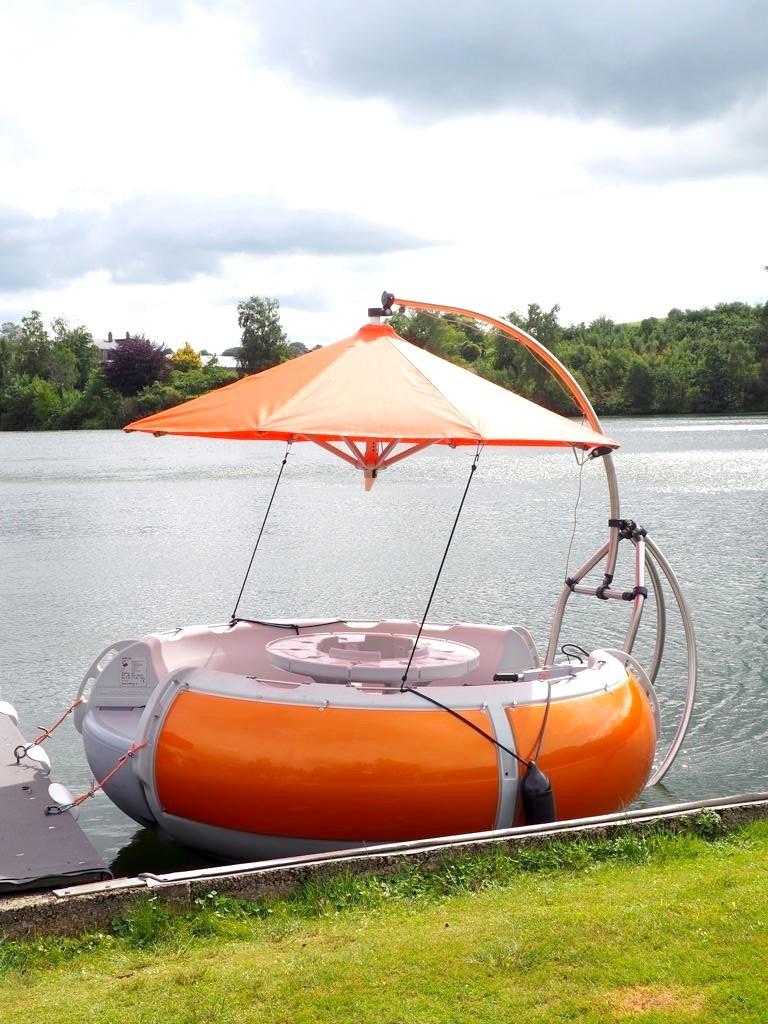 Grill Island au lac de Robertville | Un barbecue sur l'eau