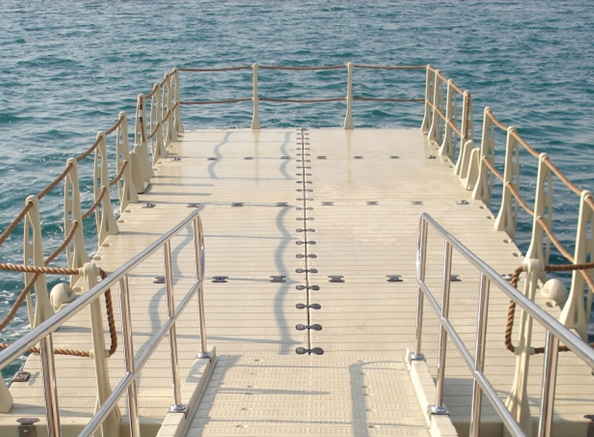 modular floating docks polyethylene posts for dock sections. Black Bedroom Furniture Sets. Home Design Ideas